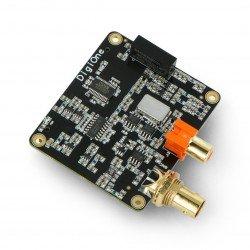 Allo DigiOne 1.1 - S/PDIF RCA BNC -sound card for Raspberry Pi