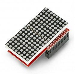 LED Matrix 16x8 MAX7219 for...