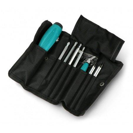 Precision screwdriver set - 10 pieces - v.2
