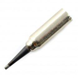 Soldering tip for soldering station Elwik - cut on two sides