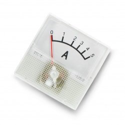 Analog ammeter - panel 91C16 mini - 5A