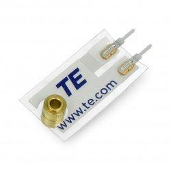 Piezoelectric sensor of...
