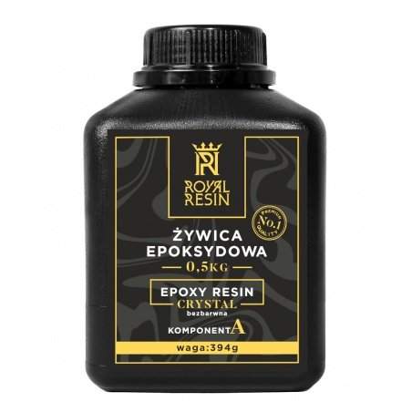 Royal Resin Crystal epoxy resin 0,5kg - casting - colorless