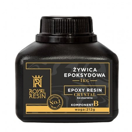 Royal Resin Crystal epoxy resin 1kg - casting - colorless