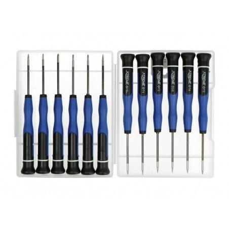 Precision screwdriver set Xtreme - 12 pieces