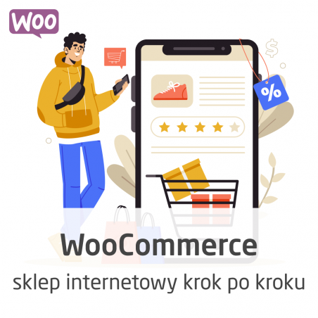 WooCommerce course - step by step online store - ON-LINE version