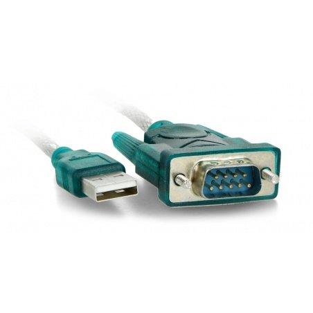 Converter USB A - RS-232 Akyga AK-CO-02 - 1m