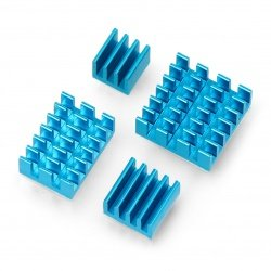 Set of heat sinks for...