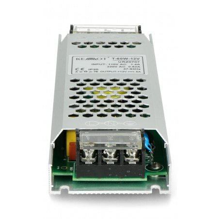 T-60W-12V mounting power supply for LED strips and tapes 12V / 5A / 60W