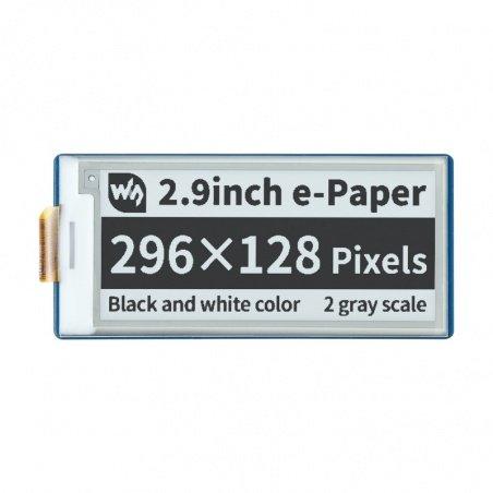 Display E-paper E-Ink - 2.9'' 296x128px - SPI - black and white