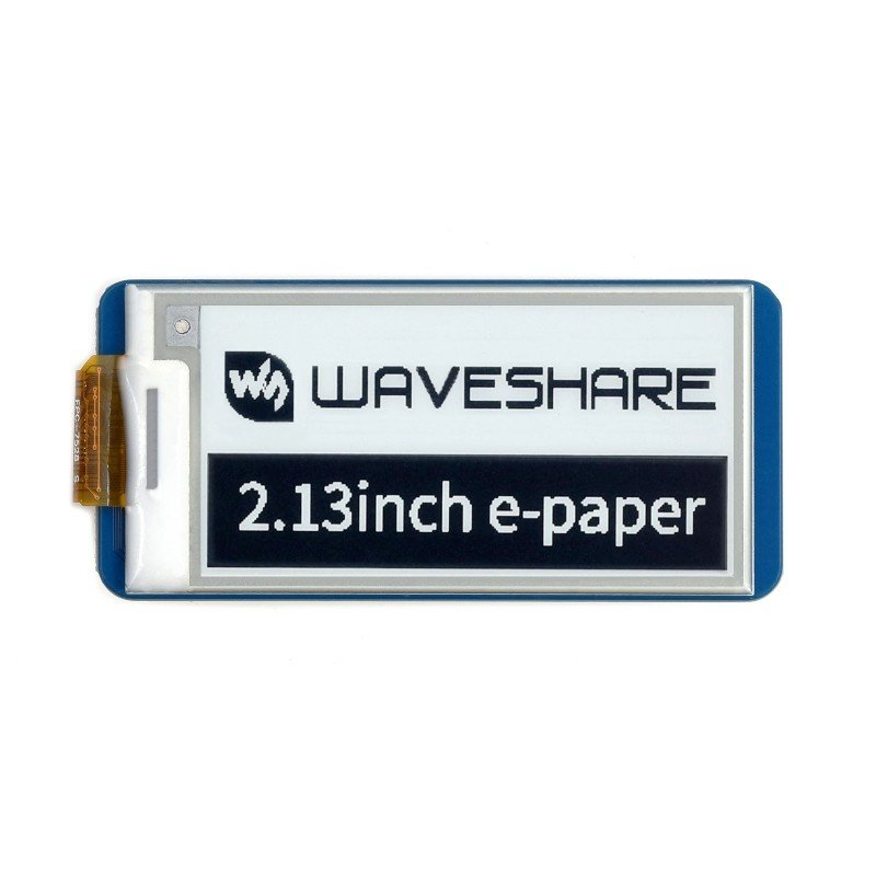Display E-paper E-Ink - 2.13'' 250x122px - SPI - black and