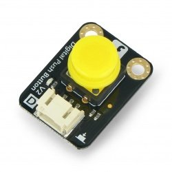 DFRobot Gravity - digital button Tact Switch - yellow