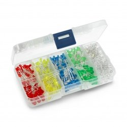 Set of 3mm and 5mm LED -...