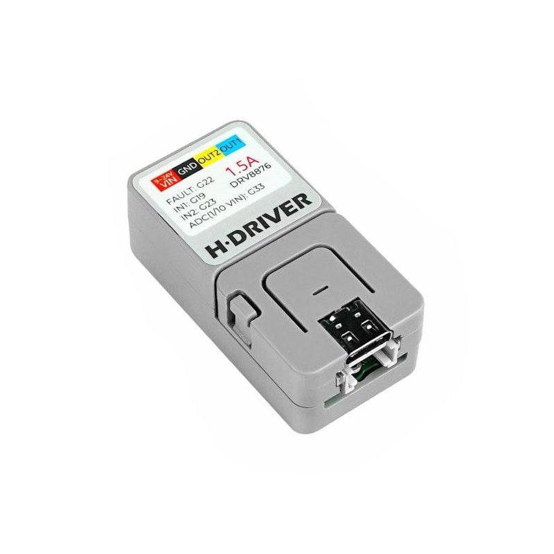 M5Atom H-Driver DRV8876 - DC motor driver with H bridge - with