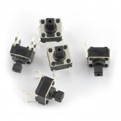 Tact Switch 6x6mm/7mm THT -...