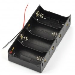 Battery holder for 4x D (R20)