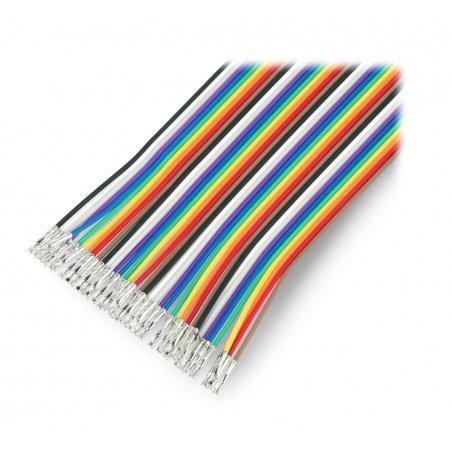 Connection cables Female-female without terminals 30cm - 40pcs