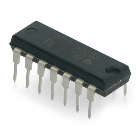 Logic circuit CD74HCT125E - line driver - 4 channels