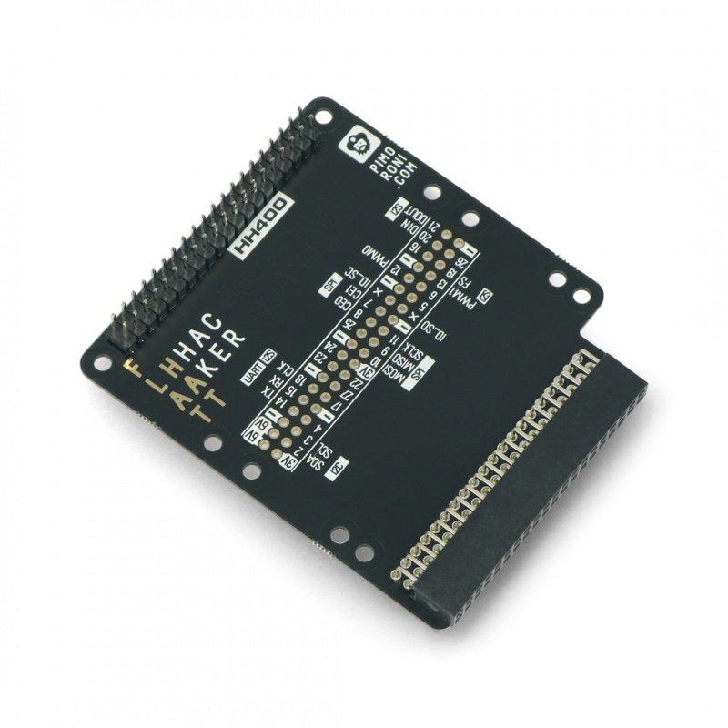 Flat HAT Hacker - for Raspberry Pi 400 - Pimoroni PM536