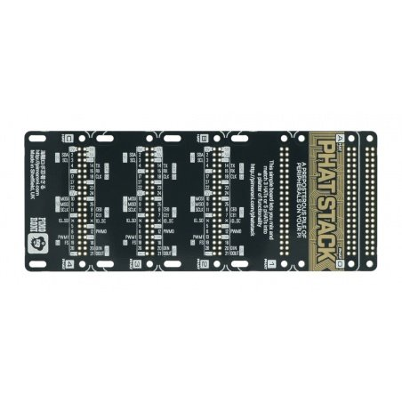 pHAT Stack – Raspberry Pi pins expander - solder yourself kit-