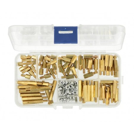 Standoff screw nut set in box - Set C