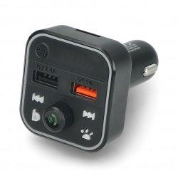 Transmiter FM BLOW Bluetooth5+QC3.0 RGB