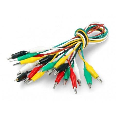 Zestaw 45 złącz i przewodów zasilających