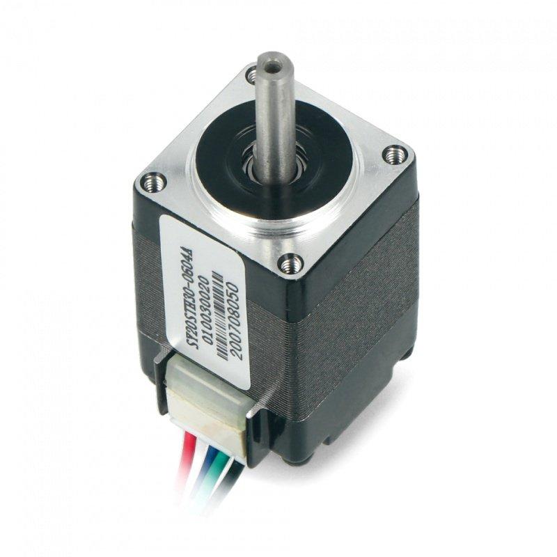 Stepper Motor SY20STH30-0604A 200 steps 3,9V/ 0,6A/ 0,017Nm -