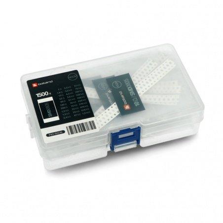 Set of resistors SMD 0805 - 1500pcs.