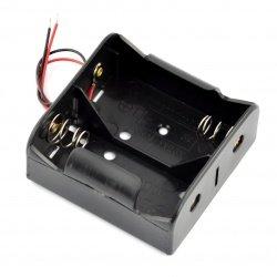 Battery holder for 2x D (R20)