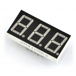 Eight-segment display x3 -...