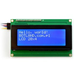 LCD display 4x20 characters...