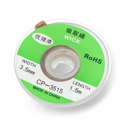 Solder wick for tin 3,5mm -...