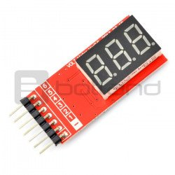 LiPo LCD voltage indicator...