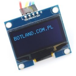 OLED blue graphic display...