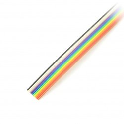 Ribbon cable 10 core color...