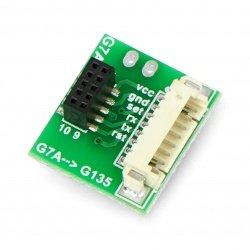 Adapter IDC 10pin 1.25mm -...