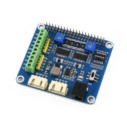 Raspberry Pi Hat - controllers, motors and servos