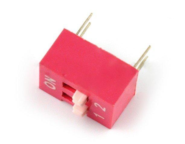 DIP switch 2-polowy