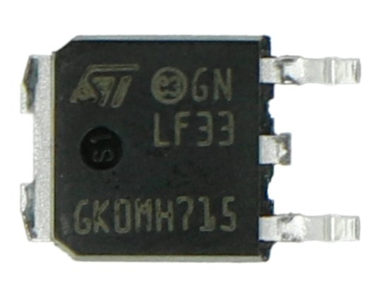 Stabilizator LDO 3,3V LF33CDT