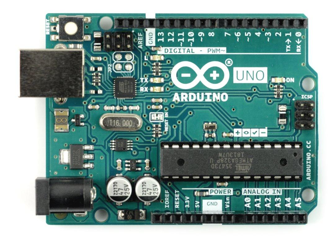 Arduino uno rev3 - moduł, platforma, atmega328, płytka,