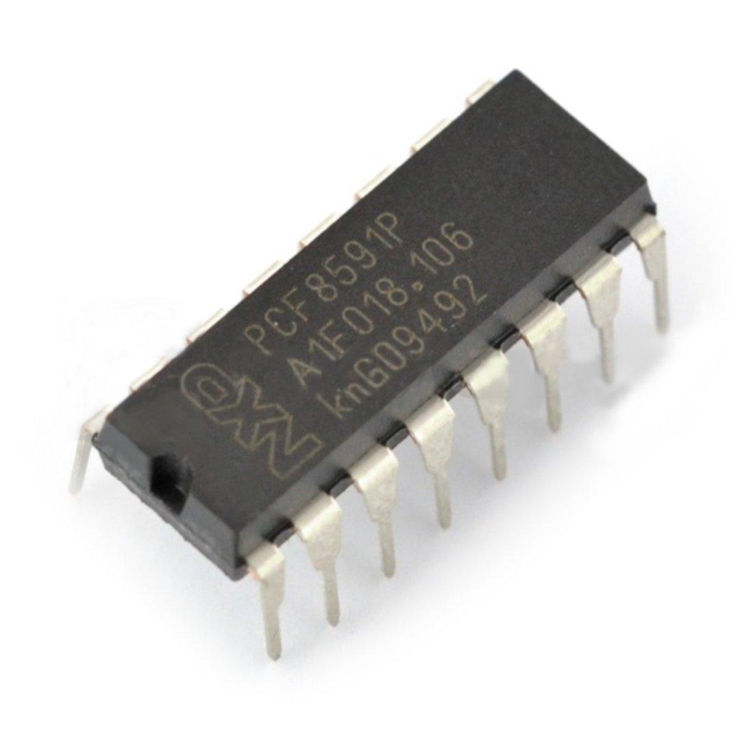 Przetwornik A/C i C/A PCF8591P 8-bitowy