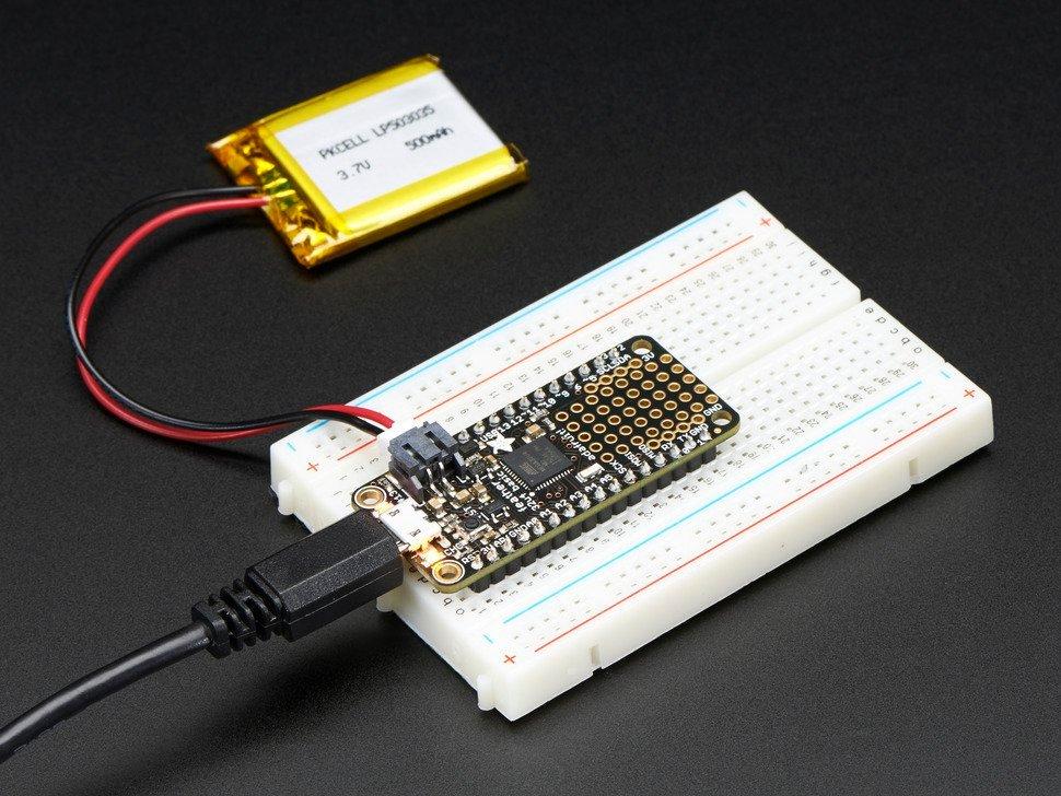 Adafruit Feather 32u4 basic proto - 32 bit, arduino, moduł,