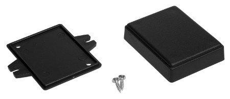 Black, plastic Kradex Z69U case.