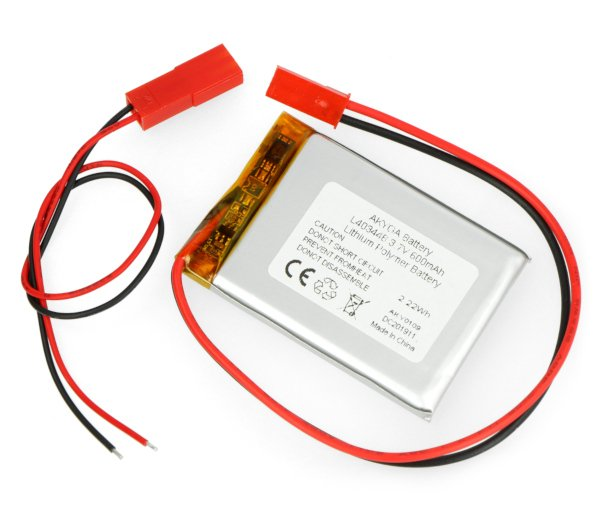 Akumulator Li-Pol Akyga 600mAh