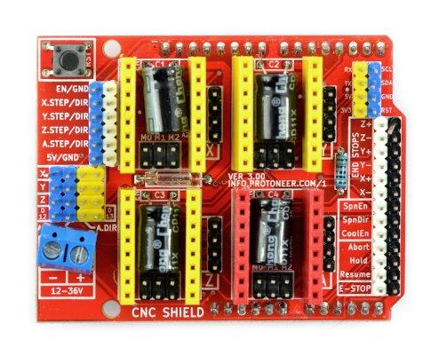 CNC Shield - 3D printer driver - Shield for Arduino