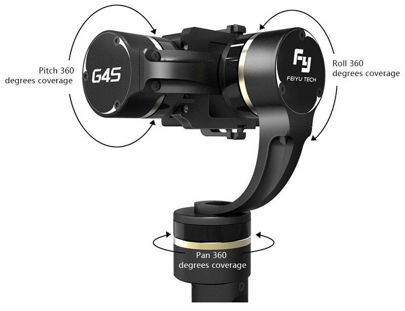 Stabilizator Gimbal ręczny do kamer GoPro Feiyu-Tech G4S
