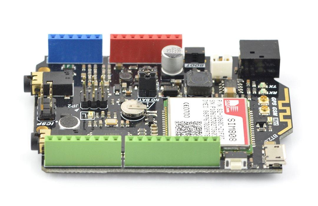 DFRduino Leonardo + module GSM/GPRS/GPS SIM808 - compatible with Arduino