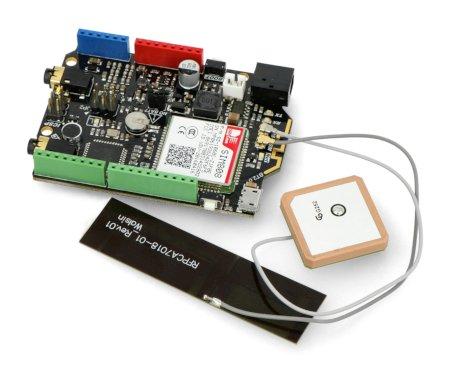 DFRduino Leonardo + moduł GSM/GPRS/GPS SIM808 - kompatybilny z Arduino