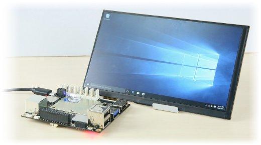 Ekran IPS 7'' 1024x600px do minikomputera LattePanda